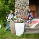 Напольное кашпо для цветов в Москве