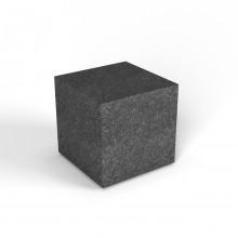 """Декоративная фигура """"Flox"""" Куб черный гранит"""